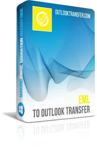Eml to Outlook Transfer boxshot image