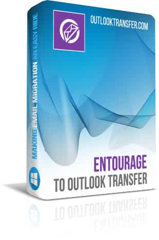 Entourage to Outlook Transfer boxshot image