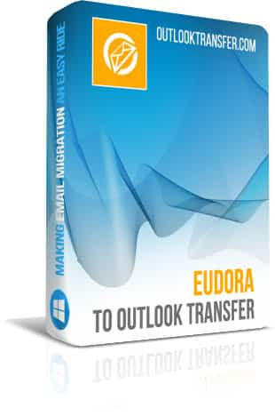 Eudora to Outlook Transfer boxshot image