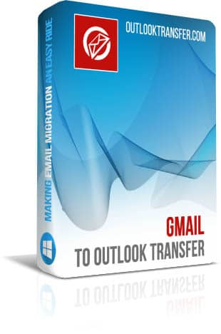 Gmail to Outlook Transfer boxshot image