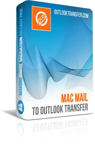 Mac Mail to Outlook Transfer boxshot image