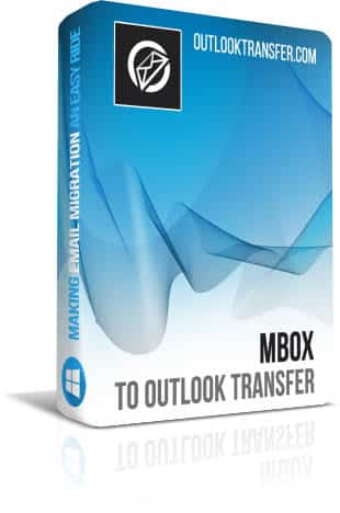 Mbox to Outlook Transfer boxshot image