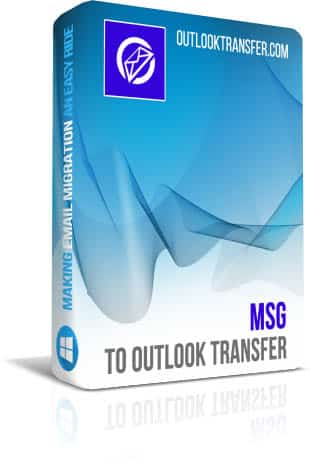 MSG a transferência do Outlook