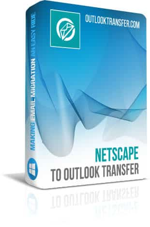 Netscape para transferência do Outlook