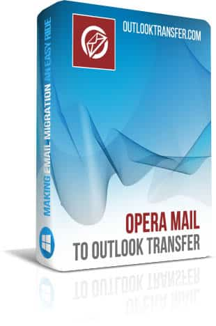 Opera Mail to Outlook Transfer boxshot image