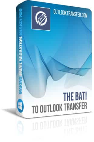 Thebat to Outlook Transfer boxshot image