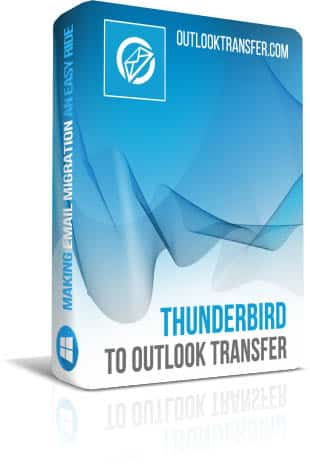Thunderbird to Outlook Transfer boxshot image
