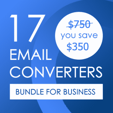 18 E-mail Converters in Bundle
