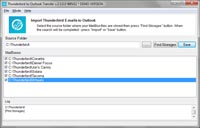 Thunderbird Outlook Transfer