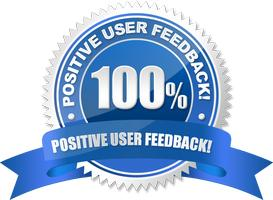 100% Users Feedback rating