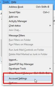 Periodical email check in Thunderbird
