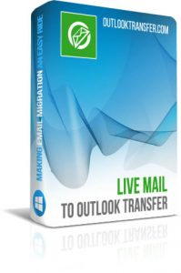 Live Mail to Outlook Converter Box