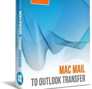 Mac Mail zu Outlook-Konverter-Box