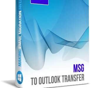 MSG to PST Converter Box