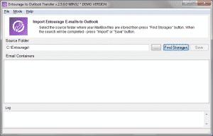 Entourage to Outlook Transfer