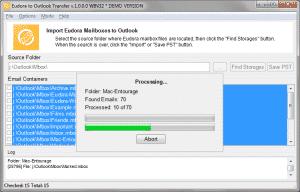 Eudora to Outlook Transfer