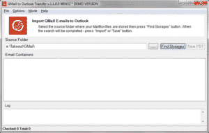 Gmail transfer tool