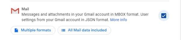 Scarica i tuoi dati dall'account Google