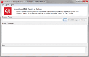 IncrediMail to Outlook Transfer
