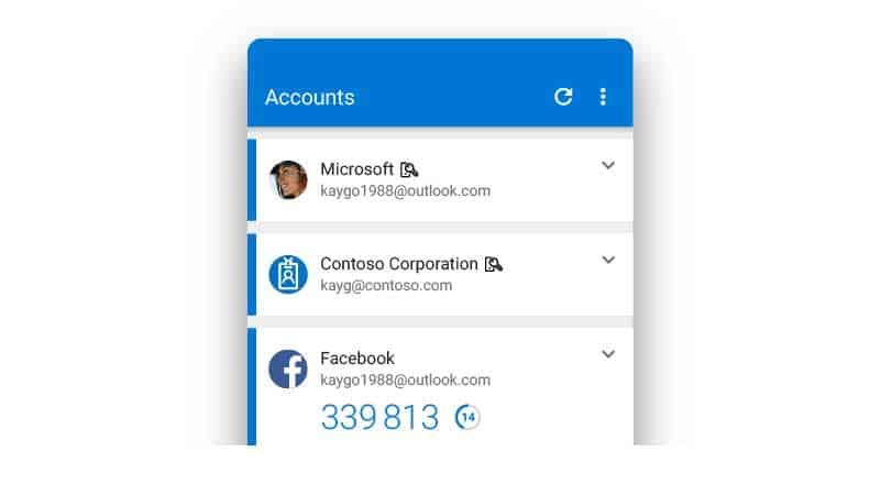 Microsofts autentiseringsapp