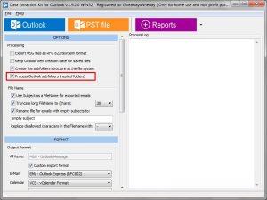 Outlook Extractor