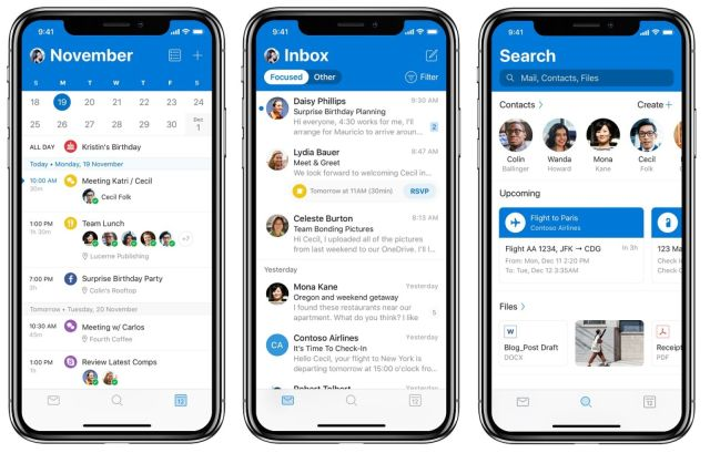 outlook for ios