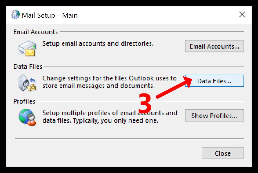 Бутон за файлове с данни