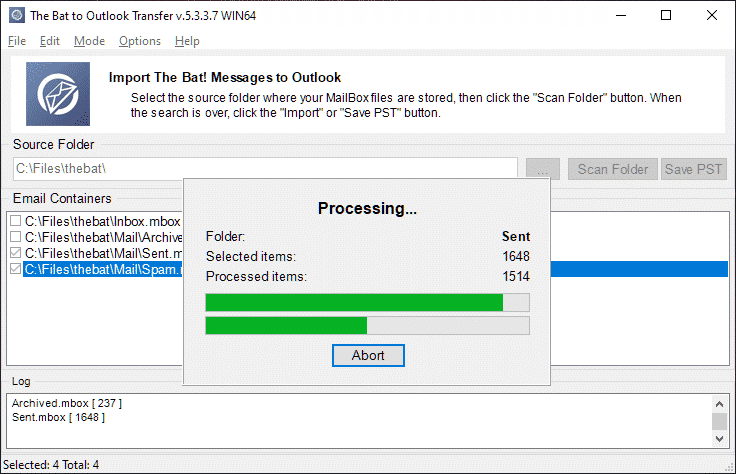 thebat-a-Outlook-transferencia-full-4