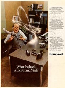 what the heck is electronic mail
